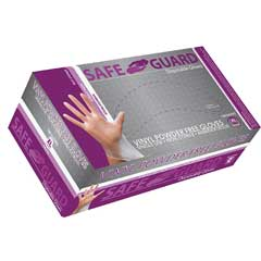 Powder-Free General Purpose Gloves, Vinyl, Medium, 100/BX