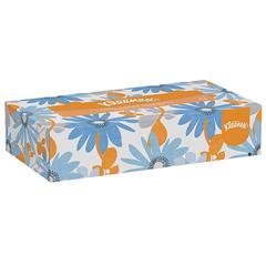 White Facial Tissue, 2-Ply, Pop-Up Box, 100/Box