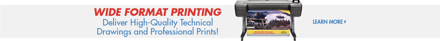 Learn More About Wide Format Printing