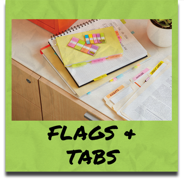Flags & Tabs Category Button