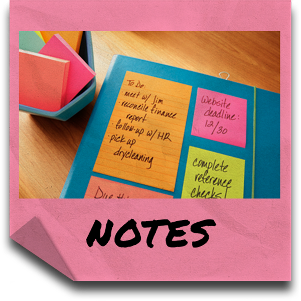 Notes Category Button