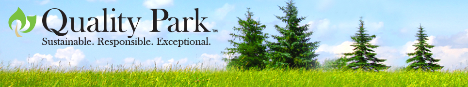 Quality Park Brand Store Header; Sustainable. Responsible. Exceptional