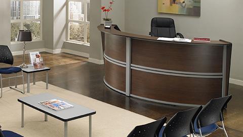 W B Mason Reception Desks Landing Page