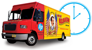 Same Day Delivery Truck Image