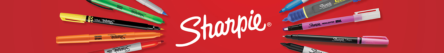 Sharpie Brand Store Header