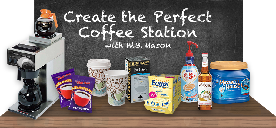Create the Perfect Coffee Station with W.B. Mason