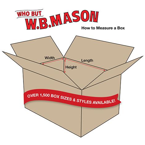 Box Dimensions Graphic