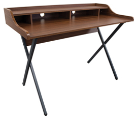 Table Desk with Shelf