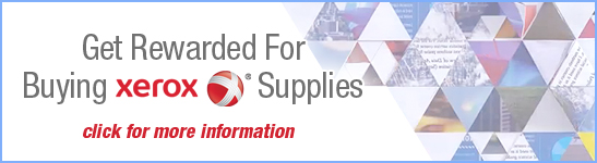 Get Rewarded for Buying Xerox® Supplies