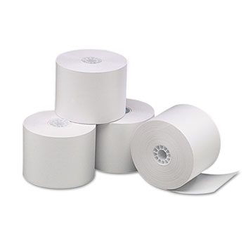 "Direct Thermal Printing Paper Rolls, 2.25"" x 85 ft, White, 3/Pack"