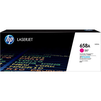 HP 658A (W2003A) Toner Cartridge, Magenta
