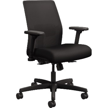 HON® Ignition 2.0 Low Back Task Chair, Black