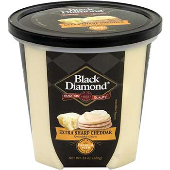 Black Diamond® Extra Sharp Cheddar Spread, 24 oz. Tub