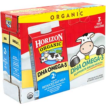 2% Milk with DHA Omega-3, 64 fl. oz., 3/PK