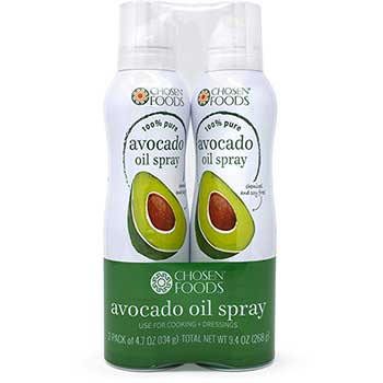 Chosen® Foods 100% Pure Avocado Oil Spray, 2/PK