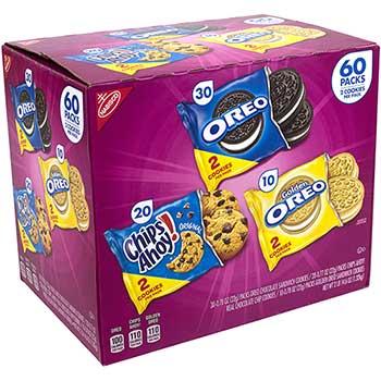 Cookie Variety Pack, 60/BX