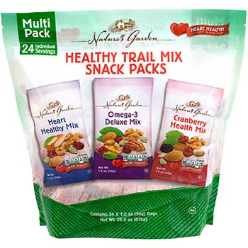 Nature's Garden Nature's Garden Healthy Trail Mix Snack Packs, 1.2 oz., 24 Count