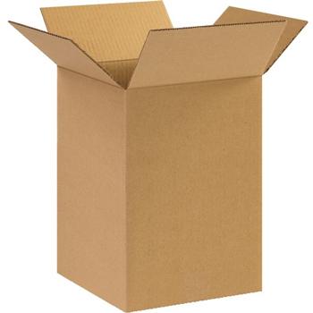 """W.B. Mason Co. Corrugated boxes, 10"""" x 10"""" x 14"""", Kraft, 25/BD"""