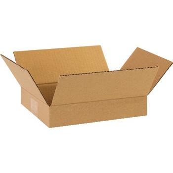 """W.B. Mason Co. Flat Corrugated boxes, 10"""" x 8"""" x 2"""", Kraft, 25/BD"""