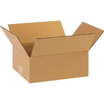 "W.B. Mason Co. Corrugated boxes, 10"" x 9"" x 4"", Kraft, 25/BD"