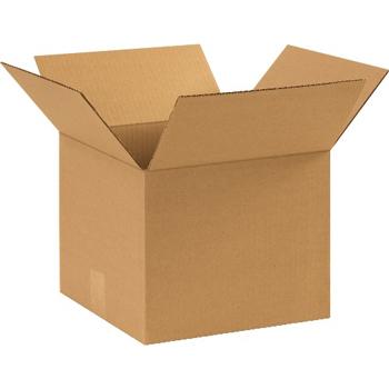 """W.B. Mason Co. Corrugated boxes, 11"""" x 11"""" x 9"""", Kraft, 25/BD"""