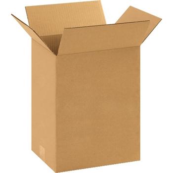 """W.B. Mason Co. Corrugated boxes, 11 1/4"""" x 8 3/4"""" x 14"""", Kraft, 25/BD"""