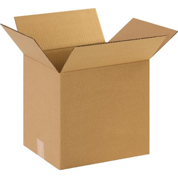 "W.B. Mason Co. Corrugated boxes, 13"" x 10"" x 13"", Kraft, 25/BD"