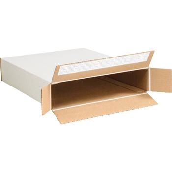 """W.B. Mason Co. Self-Seal Side Loading boxes, 12 1/2"""" x 3"""" x 17 1/2"""", White, 25/BD"""
