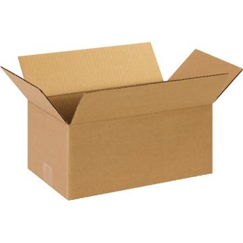 """W.B. Mason Co. Long Corrugated boxes, 12"""" x 5"""" x 5"""", Kraft, 25/BD"""