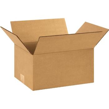 """Corrugated boxes, 11"""" x 9"""" x 6"""", Kraft, 25/BD"""