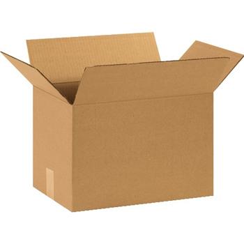 """W.B. Mason Co. Corrugated boxes, 15"""" x 10"""" x 10"""", Kraft, 25/BD"""