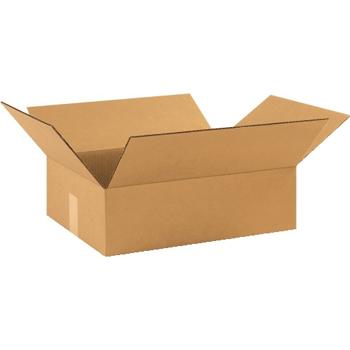 """W.B. Mason Co. Corrugated boxes, 17"""" x 13"""" x 5"""", Kraft, 25/BD"""