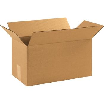 """W.B. Mason Co. Long Corrugated boxes, 17"""" x 9"""" x 9"""", Kraft, 25/BD"""