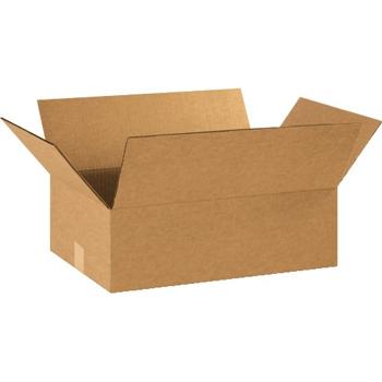 """Corrugated boxes, 19"""" x 13"""" x 6"""", Kraft, 25/BD"""