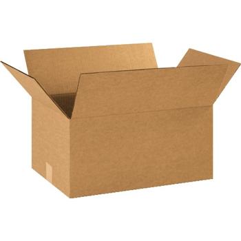 """W.B. Mason Co. Corrugated boxes, 16"""" x 12"""" x 9"""", Kraft, 25/BD"""