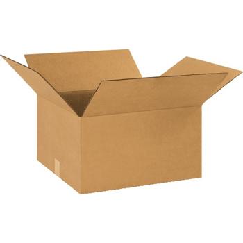 """Corrugated boxes, 18"""" x 16"""" x 10"""", Kraft, 20/BD"""