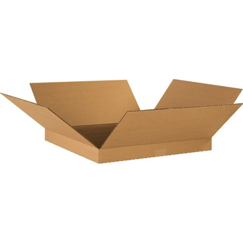 "W.B. Mason Co. Corrugated boxes, 18"" x 18"" x 2"", Kraft, 25/BD"