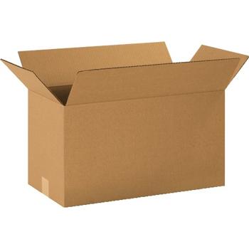 """W.B. Mason Co. Corrugated boxes, 20"""" x 10"""" x 12"""", Kraft, 25/BD"""