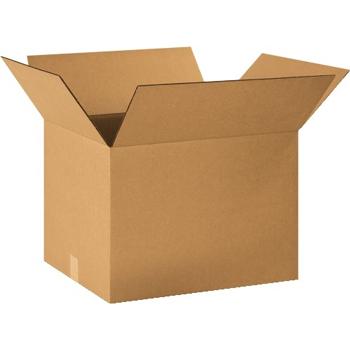 """W.B. Mason Co. Corrugated boxes, 20"""" x 16"""" x 14"""", Kraft, 20/BD"""