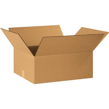 "Corrugated boxes, 20"" x 16"" x 8"", Kraft, 20/BD"