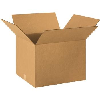 """W.B. Mason Co. Corrugated boxes, 20"""" x 18"""" x 14"""", Kraft, 10/BD"""