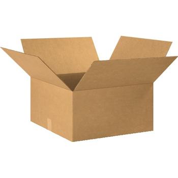 """W.B. Mason Co. Corrugated boxes, 20"""" x 20"""" x 10"""", Kraft, 15/BD"""