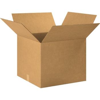 """W.B. Mason Co. Corrugated boxes, 20"""" x 20"""" x 16"""", Kraft, 15/BD"""