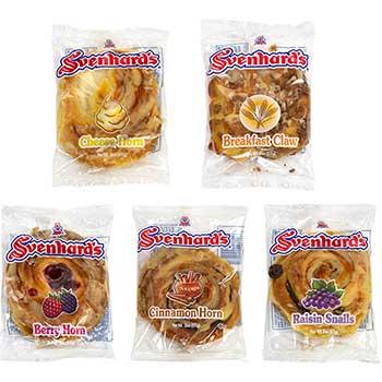 Svenhard's® Swedish Bakery Assortment Danish, 30/CS