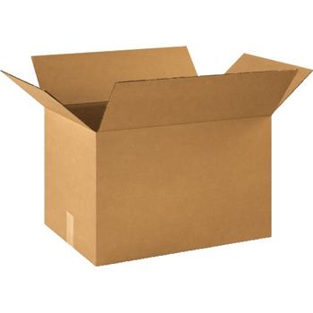 """Corrugated boxes, 21"""" x 14"""" x 14"""", Kraft, 20/BD"""
