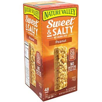 Sweet & Salty Nut Granola Bars, Peanut, 1.2 oz., 48 Count