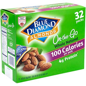 Almonds Grab & Go Bags, 32/BX