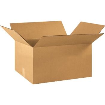 """W.B. Mason Co. Corrugated boxes, 22"""" x 16"""" x 10"""", Kraft, 20/BD"""