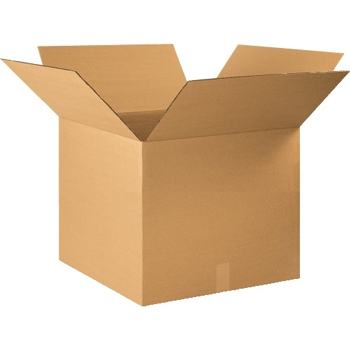 """W.B. Mason Co. Corrugated boxes, 22"""" x 22"""" x 18"""", Kraft, 20/BD"""