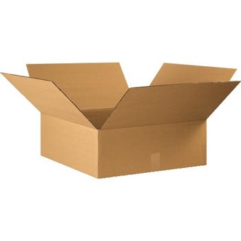 """Corrugated boxes, 22"""" x 22"""" x 8"""", Kraft, 20/BD"""